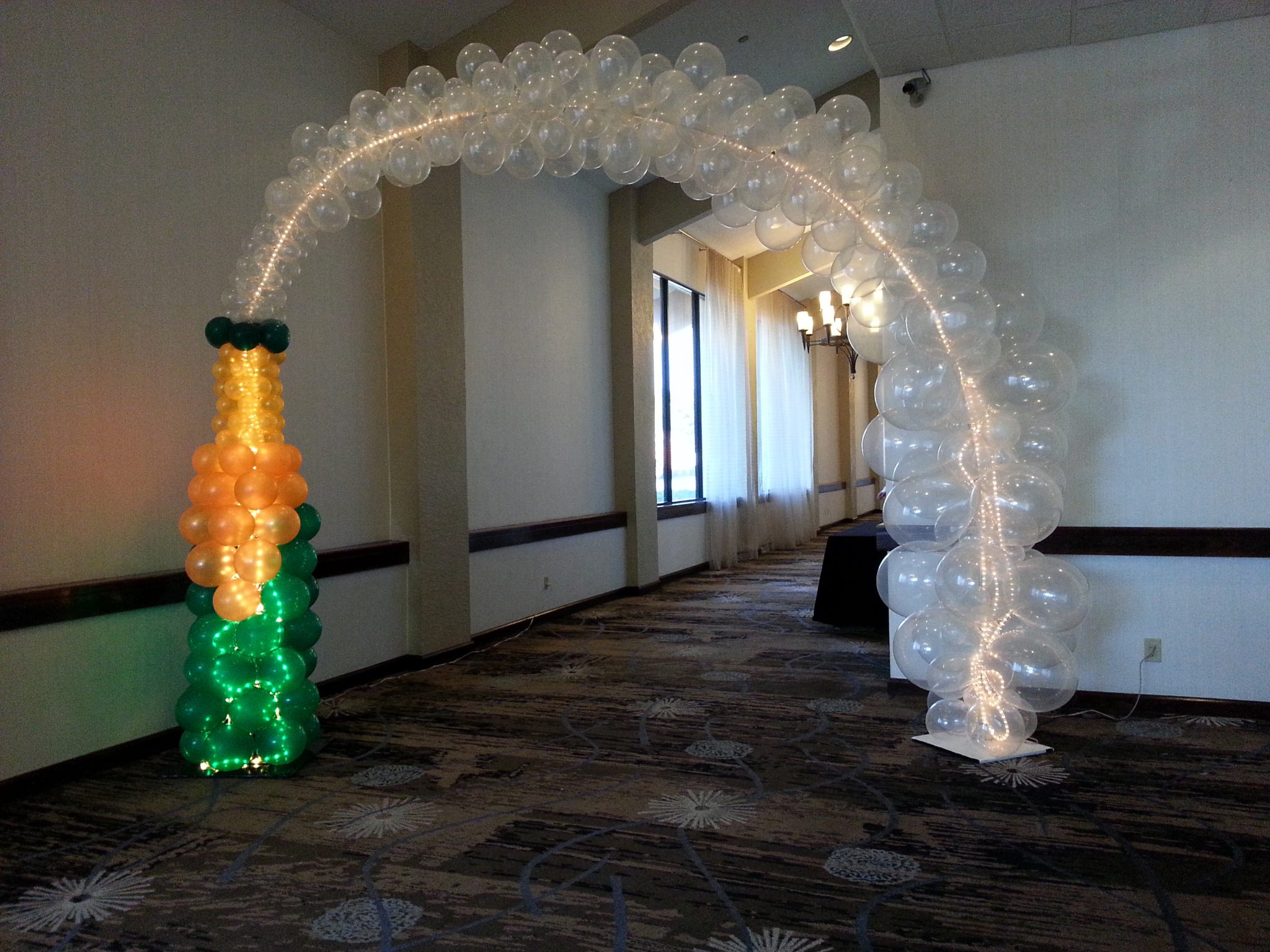 Balloon arch balloons party decorations for Arch decoration supplies