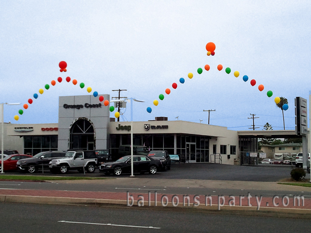 Car Lot Balloons Party Decorations