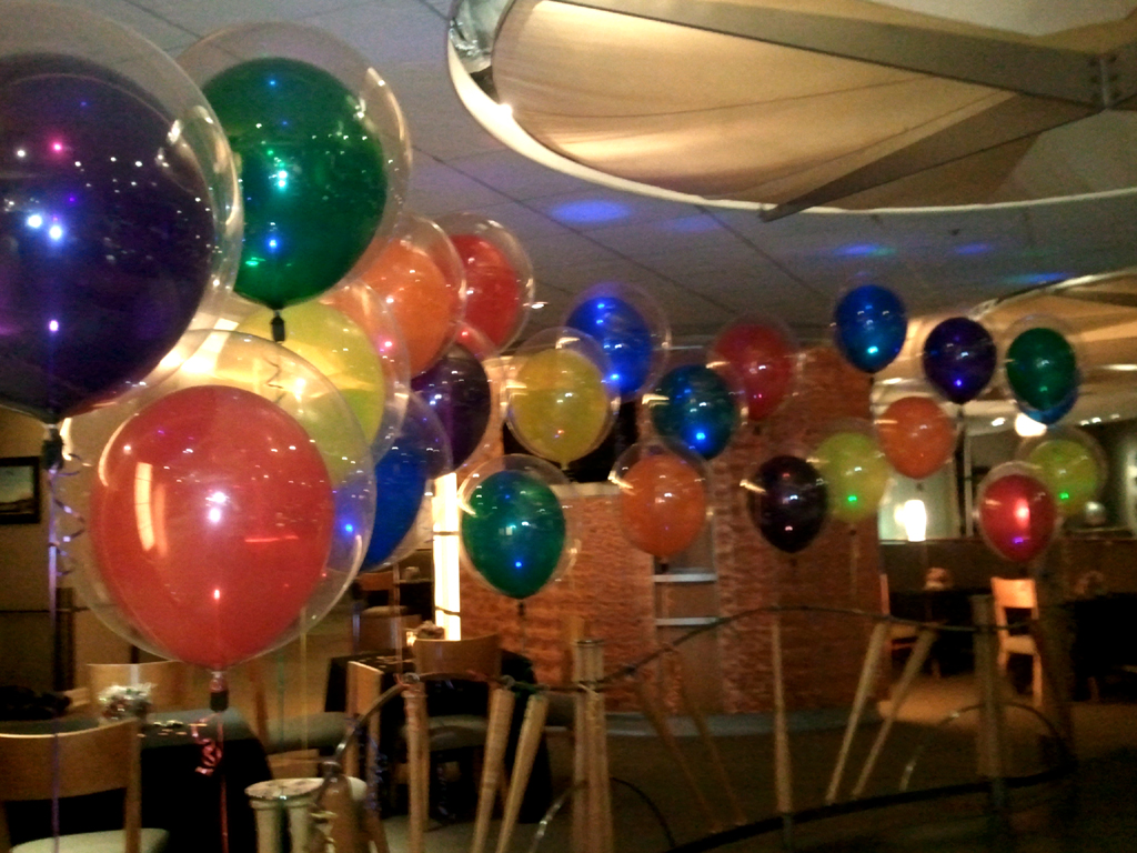 Map of los angeles ca balloons party decorations for Balloon decoration company