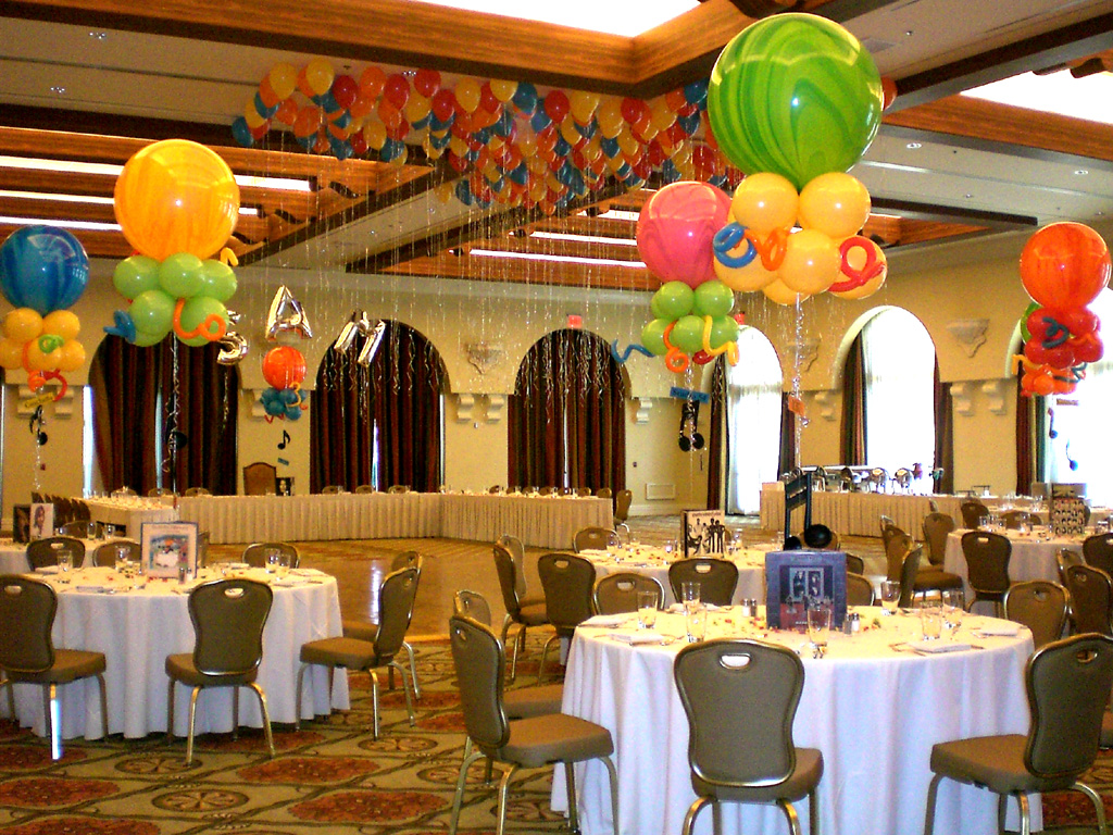 Balloon arch ideas balloons n party decorations orange for Balloon decoration for corporate events