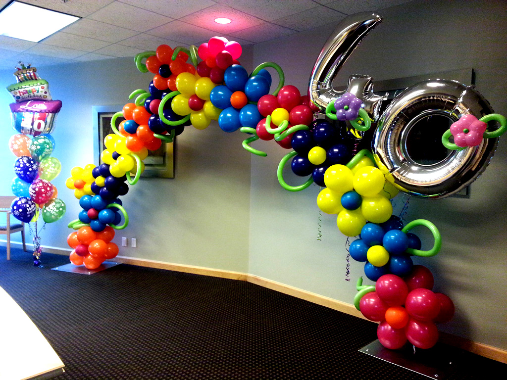 Balloon Ideas Photo Albums balloon arch column wedding theme event