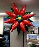 Christmas decor ideas balloons party decorations for Water balloon christmas decorations