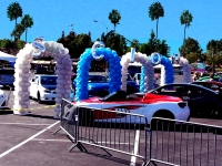 Scion Tunnel Balloon Arch