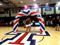 Airfilled Balloon Arch Seniors Night
