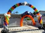 Halloween Balloon Arch 35 foot AeroPole Decoration