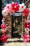 Flower Doorway Framed Balloon Arch