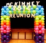 Linky Balloon Square Arch