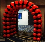 Tunnel Alternate Size Square Pack Balloon Arch